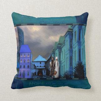 Gradec Stone Gate Throw Pillows