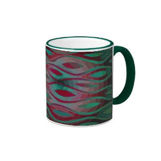 gradiant radiante (diseño del alanart) tazas