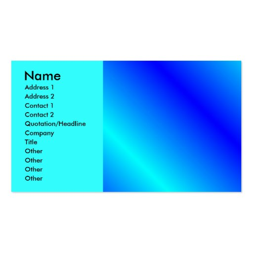 gradient39888934, Name, Address 1, Address 2, C... Business Card Template