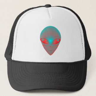 GRADIENT ALIEN TRUCKER HAT