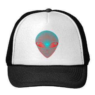 GRADIENT ALIEN TRUCKER HAT