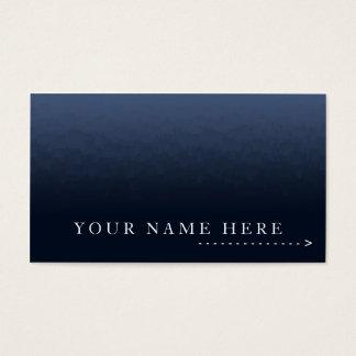 Gradient Blue City Plain Card
