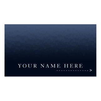 Gradient Blue City Plain Card Business Card