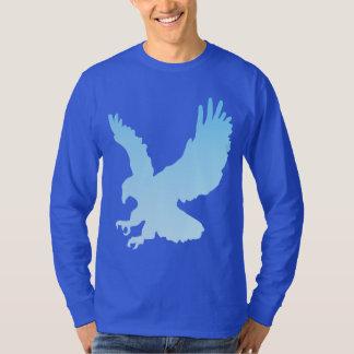 GRADIENT BLUE EAGLE SILHOUETTE T-Shirt