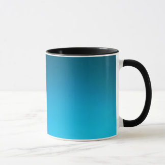 Gradient Blue LED Wash Lighting Mug