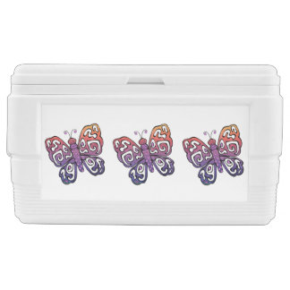 Gradient butterfly clipart chest cooler