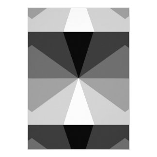 Gradient Cube  Black to White Card