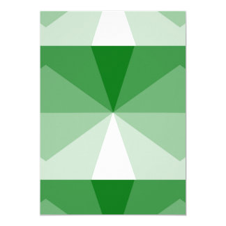 Gradient Cube  Kelly Green to White Card