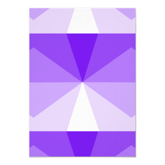 Gradient Cube  Purple to White Card
