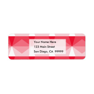 Gradient Cube Red to White.jpg Return Address Label