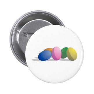 Gradient Easter Eggs Pinback Button