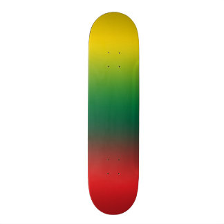 Gradient flag of Lithuania colors Skateboard Deck