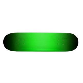 Gradient Green & Black Skateboard Template