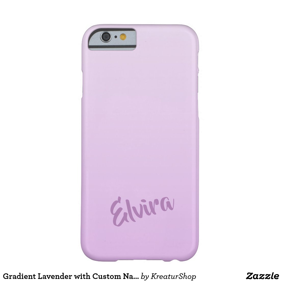 Gradient Lavender with Custom Name