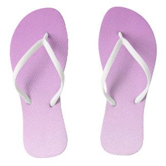 Gradient Light Purple Beach Shoes Flip Flops