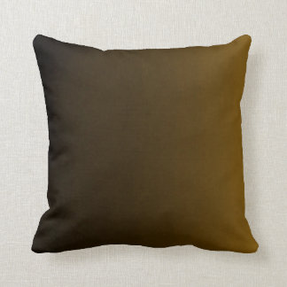 Gradient Mustard Yellow Pillow