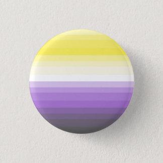 Gradient Nonbinary Pride Flag Button