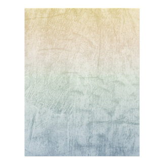 Gradient Pastels Grunge Custom Letterhead