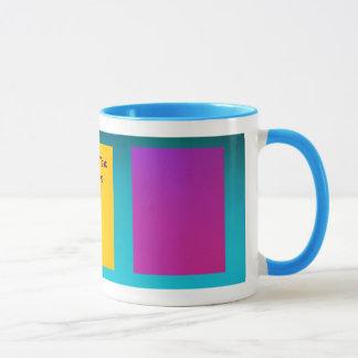 Gradient Pink Purple and Greenish Blue Mug