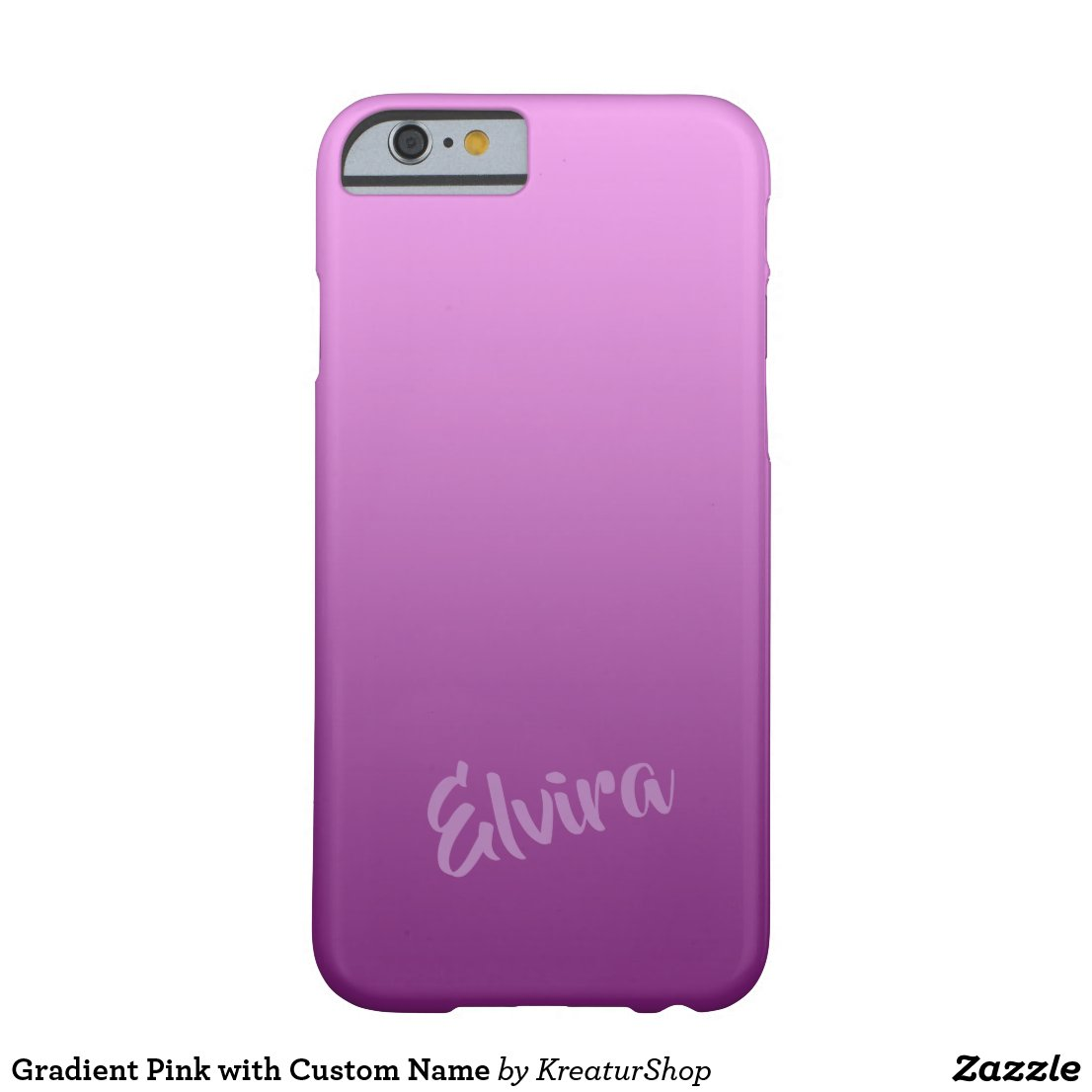 Gradient Pink with Custom Name