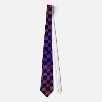 Gradient punk tie