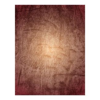 Gradient Red Grunge Letterhead