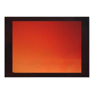 Gradient Red To Orange Card