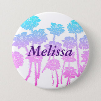 Gradient Roses - Name Button