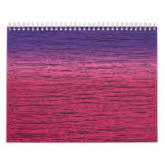 gradient scribble calendar