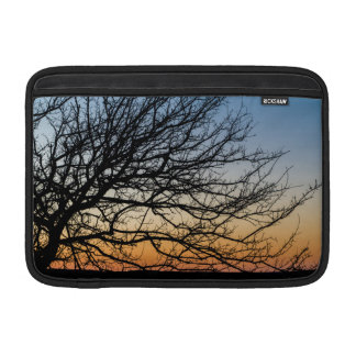 Gradient Sky in Winter MacBook Air Sleeve