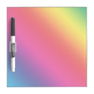 Gradient Spectrum Dry-Erase Board