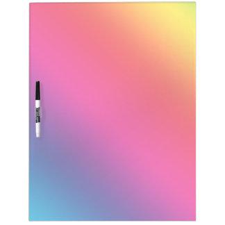 Gradient Spectrum Dry-Erase Whiteboard