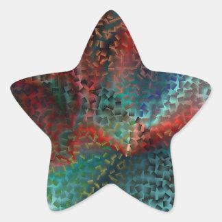 Gradient Storm Star Sticker