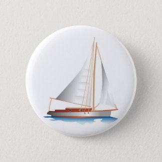Gradient Style Sailboat Button