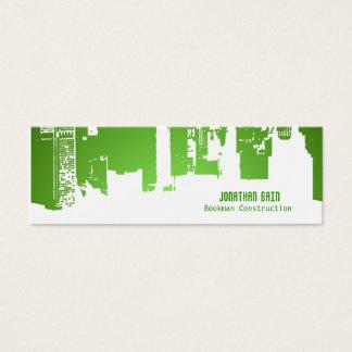 Gradient Upside Downtown HH Skinny Mini Business Card