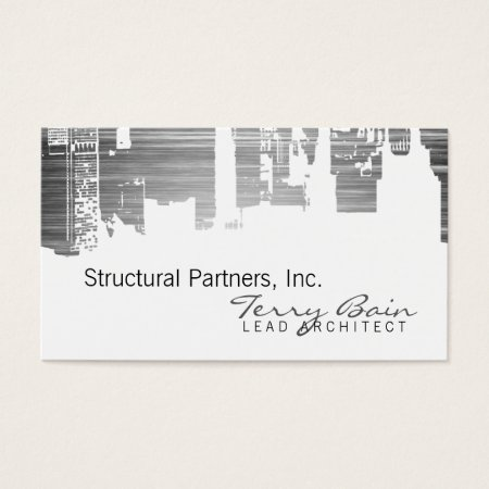Upside Downtown Structural Lead Architect Business Cards