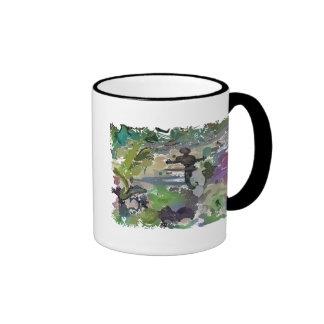 """""""Gradients Of Color Of Alien Life"""" Ringer Mug"""
