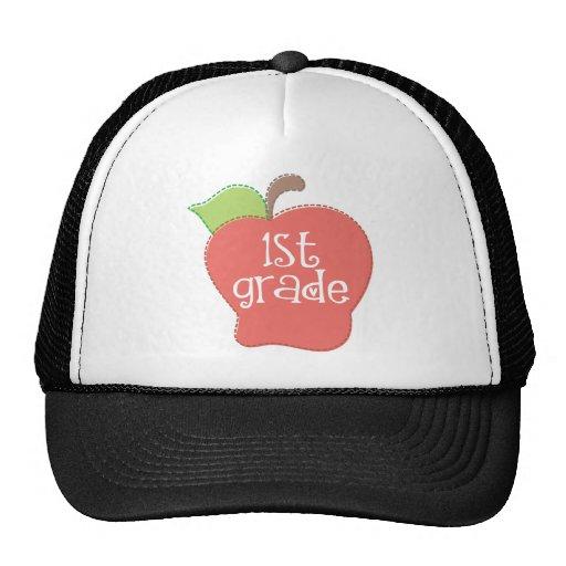 Grado de Apple de la puntada 1r Gorras De Camionero