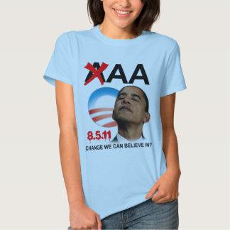 Grado de la solvencia de Obama - AA Remera
