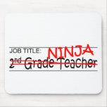 Grado de Ninja del cargo 2do Tapete De Ratón