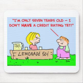 grado de solvencia de la limonada mouse pad