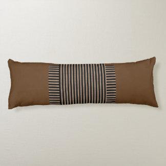 Grado del ante una almohada del cuerpo del algodón