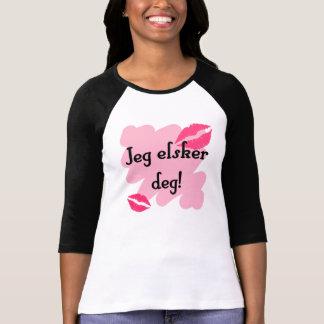 Grado del elsker de Jeg - noruego te amo Camiseta