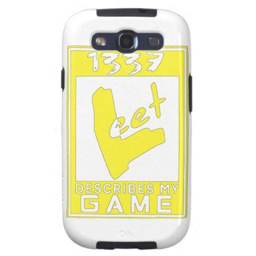 Grado del juego de Deluxe1337 Leet Samsung Galaxy S3 Fundas