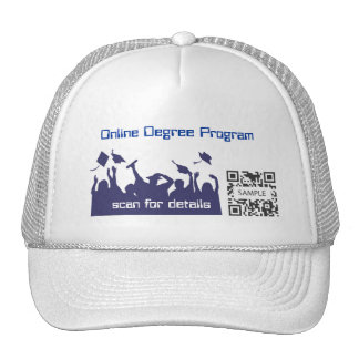 Grado en línea de la plantilla del gorra