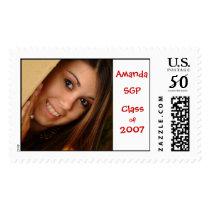 gradstamp1, SGP, Class, of, 2007, Amanda Postage