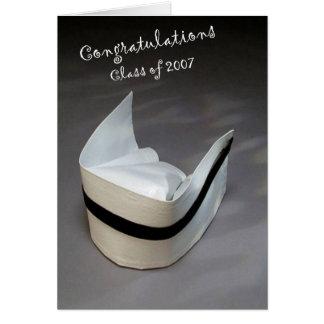 Graduación 2007 de la enfermera felicitacion