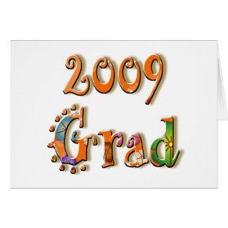 GRADUACIÓN 2009 TARJETÓN