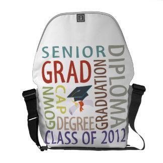 Graduación 2012 bolsas messenger