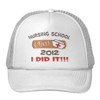 Graduación 2012 de la escuela de enfermería gorro